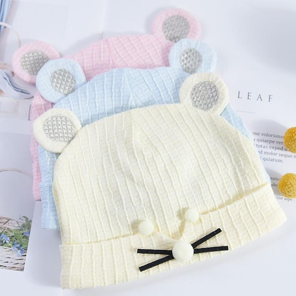 新生兒胎帽嬰兒帽夏