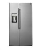 GE 美國 奇異 CZS22MSSS 702L 對開門冰箱 不鏽鋼灰色 薄型設計機身深度62cm