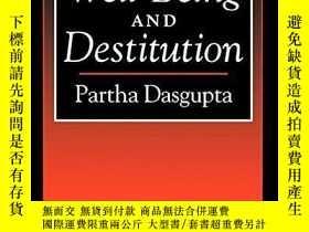 二手書博民逛書店An罕見Inquiry Into Well-being And DestitutionY256260 Part