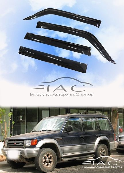 Mitsubishi Pajero 91-99 台製晴雨窗 【IAC車業】