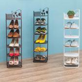 歐式鐵藝鞋架經濟型創意多層收納