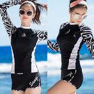 短褲款衝浪二件式泳衣.兩件式2件式游泳衣成人浮潛衣潛水服分體防曬水母衣水母服運動服瑜珈服