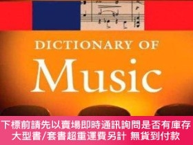 二手書博民逛書店The罕見Concise Oxford Dictionary Of Music (oxford Paperback