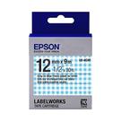 【12mm Pattern】EPSON LK-4CAY C53S654446 Pattern系列標籤帶