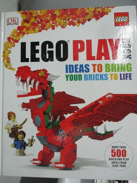 【書寶二手書T1/電玩攻略_DJC】Lego Play Book-Ideas to Bring Your..._Lipkowitz