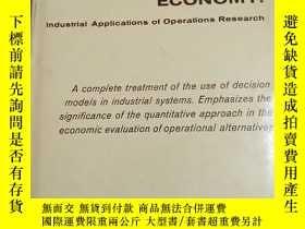 二手書博民逛書店PERATIONS罕見ECONOMY:Industrial Applications of Operations