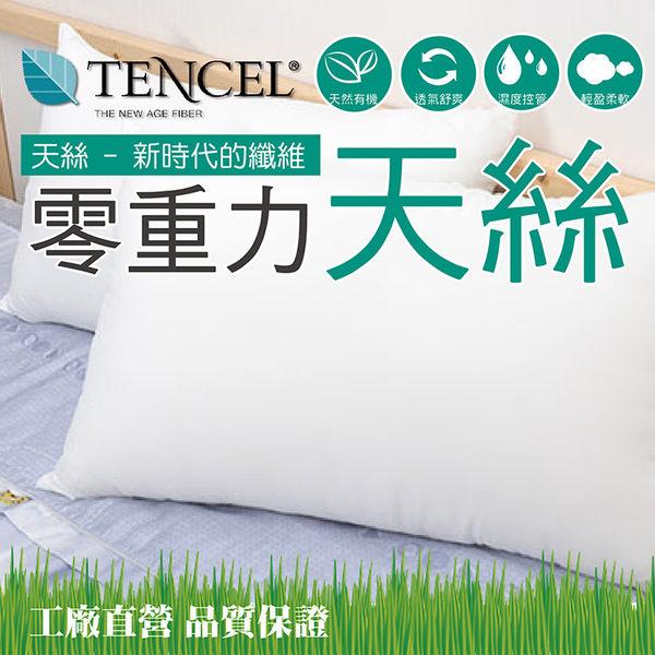 透氣輕柔TENCEL天絲枕 奧地利進口原料 台灣製 42x72cm 枕頭《Embrace英柏絲》
