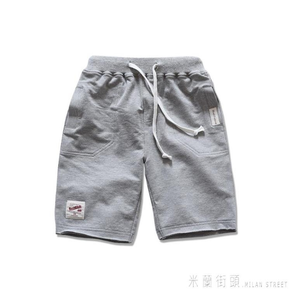 童裝2020夏裝男童短褲兒童運動褲子休閒中褲五分褲純棉大童薄款潮