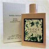 GUCCI Bloom 繁花之水女性淡香水 100ml-Tester包裝
