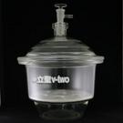 真空乾燥器21cm〔附玻璃活栓/磁板〕硫酸乾燥器 真空乾燥皿