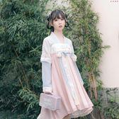 漢元素古裝女改良漢服對襟齊胸襦裙 衣普菈