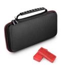【玩樂小熊】Switch主機 NS 美國進口GameWill 網紋手提雙拉鍊硬殼便攜包 防撞包 主機包 附2個卡帶盒