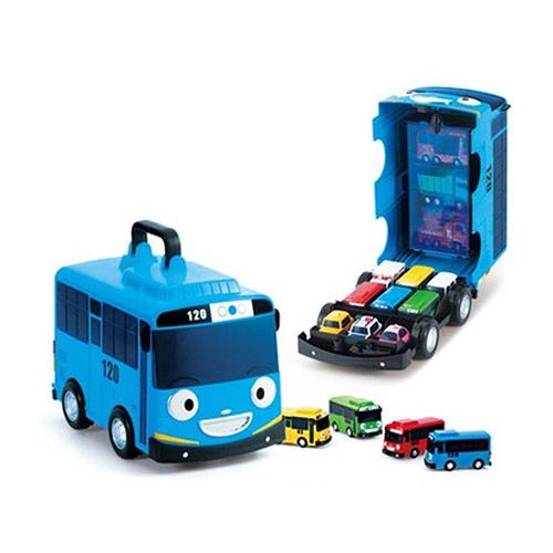 *幼之圓*東森幼幼台 韓國 ICONIX TAYO 小車收納盒~好玩的收納車