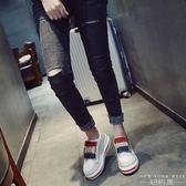 厚底鞋 小白鞋百搭休閒韓版運動內增高