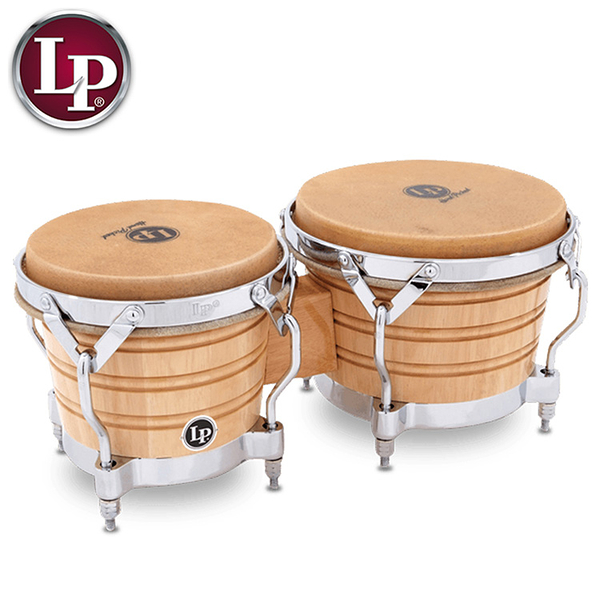 LP邦哥鼓201A-2 GENERATION II BONGOS WITH TRADITIONAL RIMS 邦加鼓-泰國製