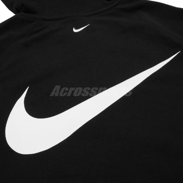 Nike 外套 NSW Swoosh Hoodie 黑 紅 男款 連帽 勾勾 運動休閒 【ACS】 CT7363-010