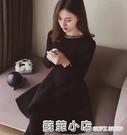 秋冬小個子短裙毛衣裙大碼針織洋裝冬天打底裙小黑裙胖MM 蘇菲小店