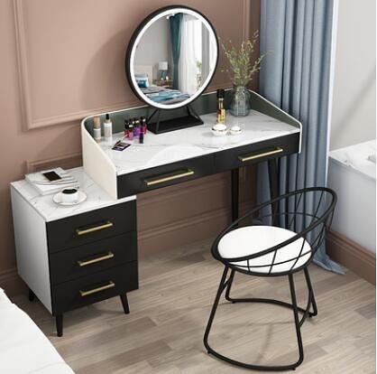 北歐臥室小戶型意式化妝桌