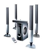 【鼎立資訊】5.1聲數位雙解碼喇叭 家庭劇院喇叭組 下單後5-8日到貨