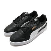 Puma 休閒鞋 Shuffle 黑 白 金標 男鞋 女鞋 基本款 運動鞋 【ACS】 30966804