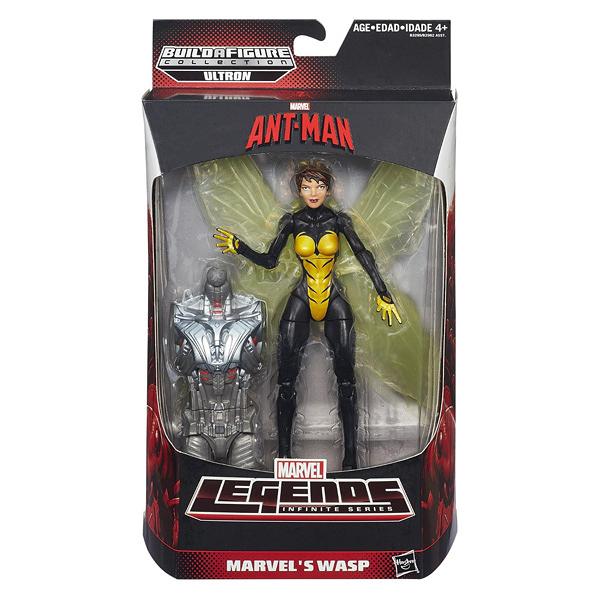 【Hasbro 孩之寶】漫威 Marvel Legends 蟻人 6吋人物組 黃蜂女