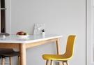 【歐雅系統家具】馬卡餐椅-黃 / 北歐風 / 現成家具 / 椅子 / 二色選擇 / 簡約設計 / 密度高ABS材質