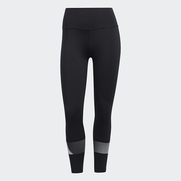 Adidas Believe This 2.0 女裝 長褲 緊身 9分 高腰 訓練 慢跑 排汗 黑【運動世界】GR8089