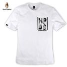 Hush Puppies T恤 男裝透明字母口袋設計短袖T恤
