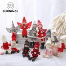 聖誕提前購貝影 聖誕節裝飾品娃娃公仔天使女孩聖誕娃娃掛件聖誕樹裝飾 2個