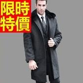 毛呢外套-羊毛韓版短版溫暖男風衣大衣62n23【巴黎精品】