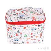 化妝包 簡約小號便攜少女心袋多功能收納盒品網紅同款大容量箱韓版 js15155『miss洛羽』