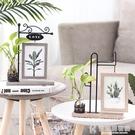 相框北歐小清新創意6寸擺台個性水培植物花...