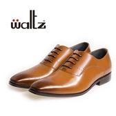 Waltz-英式簡約壓花紳士皮鞋212143-06(棕)