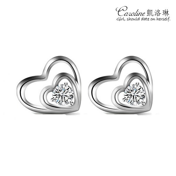 《Caroline》★【愛戀】甜美魅力、高雅大方設計配飾時尚耳環68406