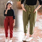 童裝 中童 親子裝 飛鼠哈倫褲 女童長褲 二色 寶貝童衣