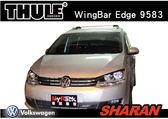||MyRack|| VW SHARAN 車頂架 THULE Wingbar Edge 9583 車頂架 靜音橫桿