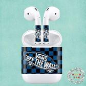 全館82折-airpods耳機貼紙保護套潮牌藍芽耳機保護貼防丟保護套來圖定制