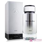 Mercedes Benz 賓士 銀輝幻羽男性淡香水 SILVER(120ml) EDT-國際航空版【美麗購】