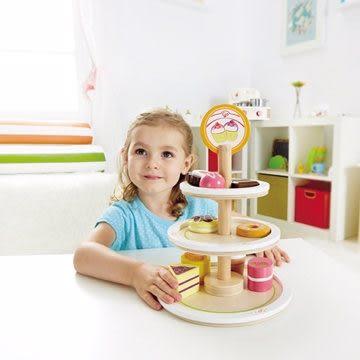 *babygo*德國Hape愛傑卡-下午茶系列-甜心蛋糕塔