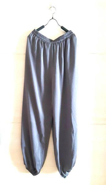 【貽湘坊】夏裝--絲綢面料功夫褲禪修褲打坐褲運動褲太極褲雙口袋男女皆可穿
