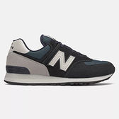 New Balance 574 D 男鞋 休閒 經典 緩震 麂皮 藍 白【運動世界】ML574BD2