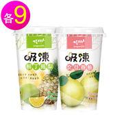 【吃果籽】吸凍220gx18入-柳丁鳳梨+文旦香柚各9入