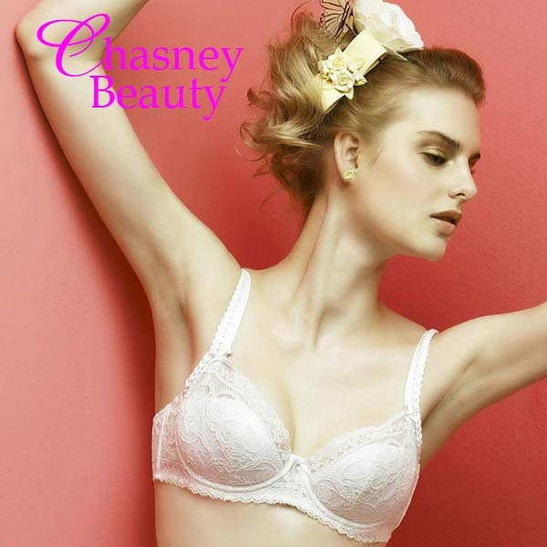 Chasney Beauty-Twist麻辮S蕾絲三角褲(白)