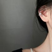 個性 星星 鑲鑽 無耳洞 簡約 氣質 耳骨 耳夾 耳環 【SE871】 ENTER  5/21