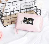化妝包 獨角獸化妝包可愛少女心收納包小號便攜韓國簡約軟妹隨身袋大容量 俏腳丫