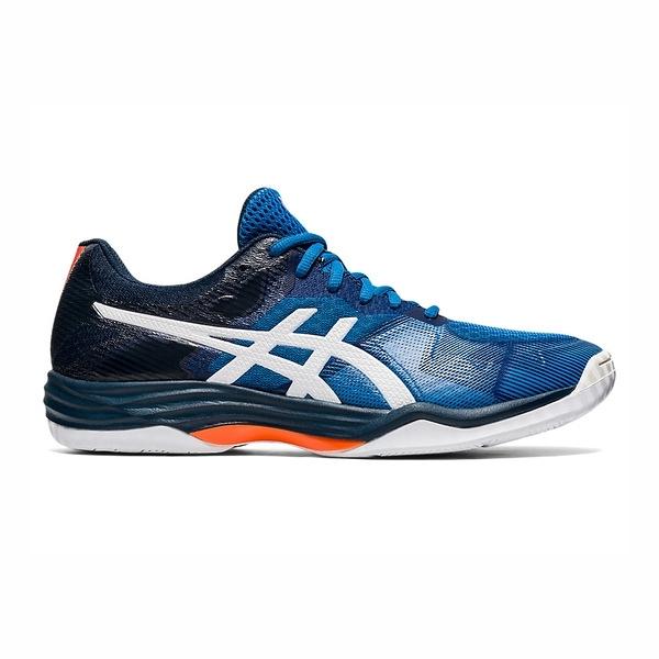 Asics Gel-tactic [1071A031-402] 男鞋 羽球 排球 透氣 輕量 彈性 緩衝 亞瑟士 藍 白
