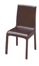 【南洋風休閒傢俱】設計單椅系列-時尚鋼管餐椅 靠背餐椅 皮餐椅 SY254-13