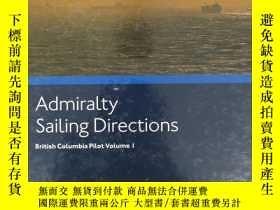 二手書博民逛書店Admiralty罕見Sailing Directions201