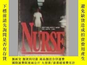 二手書博民逛書店英文原版罕見Nurse by Peggy AndersonY14