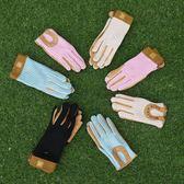 兒童手套  (有兒童碼)馬術線背手套 馬術手套 豬皮騎士手套馬術手套  伊蘿鞋包精品店